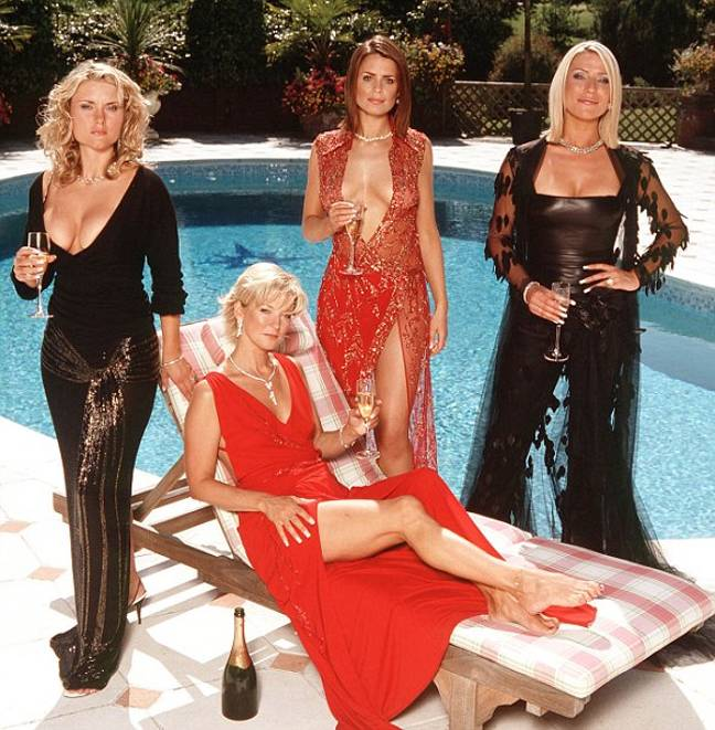 Zöe Lucker, Gillian Taylforth, Susie Amy and Katharine Monaghan starred in the original series. (Credit: ITV)