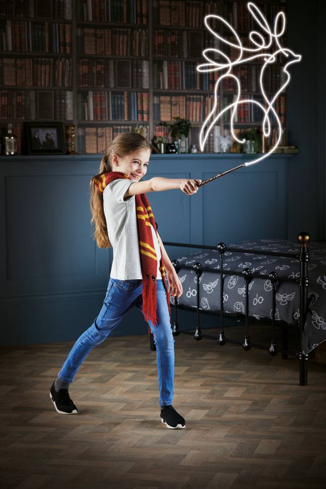 On how about a 'Harry Potter' painting wand? (Credit: Aldi)
