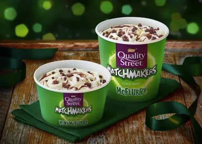 The Matchmaker McFlurry is returning for the first time since 2013. (Credit: McDonald's)