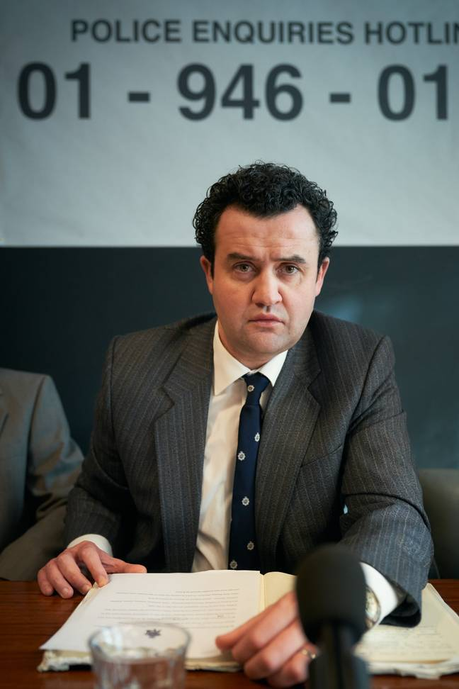 The show also stars Daniel Mays as DCI Peter Jays (Credit: ITV)