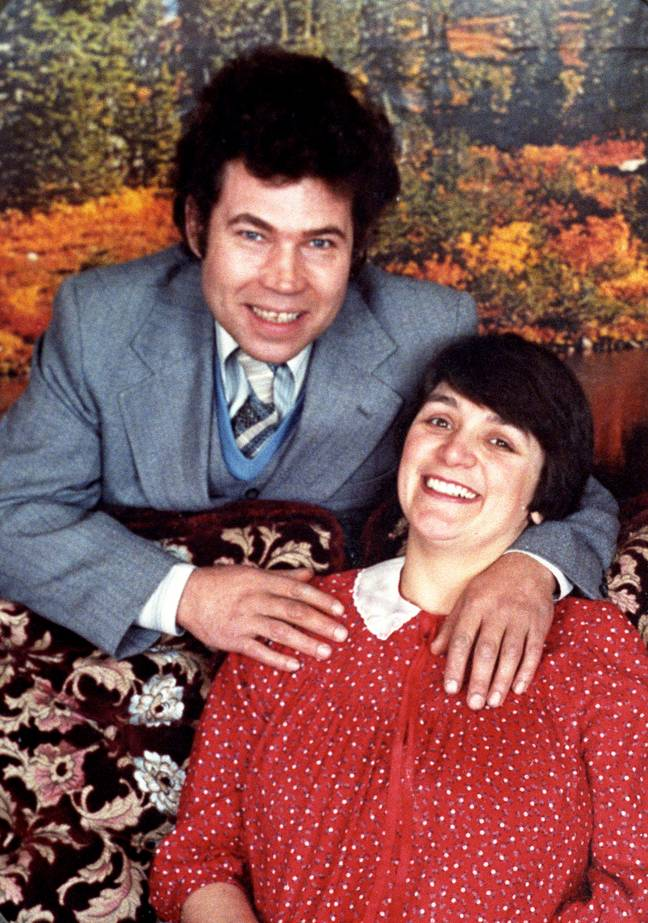 West was found guilty of 10 similar murders with her husband Fred West (Credit: PA)
