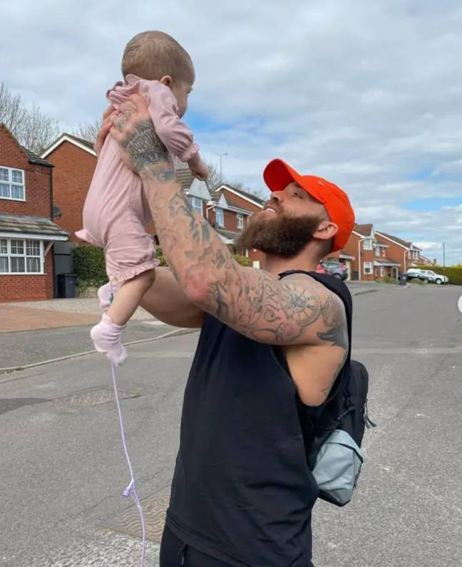 Azaylia was allowed to return home earlier this month (Credit: Ashley Cain/ Instagram)