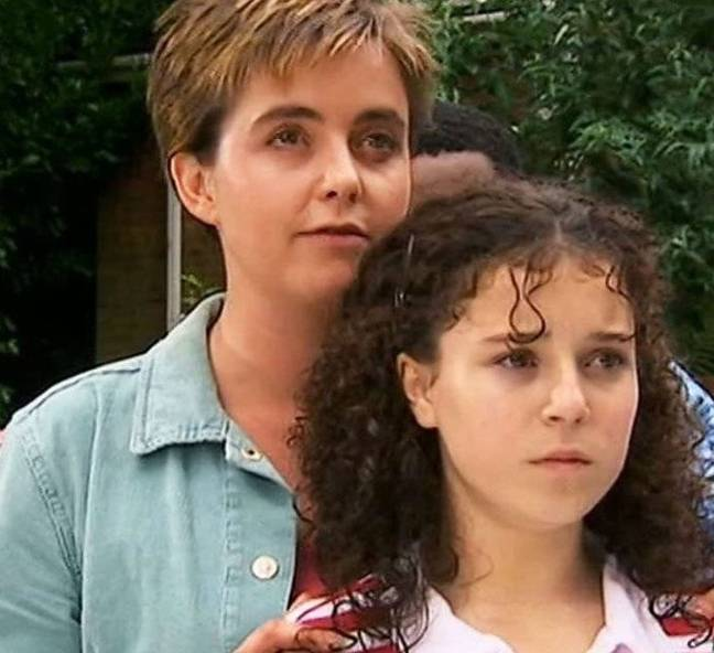 Cam adopted Tracy in the original series which aired between 2002 and 2005 (Credit: BBC)
