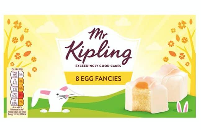 Mr Kipling egg fancies are the perfect Easter treat (Credit: Mr Kipling)