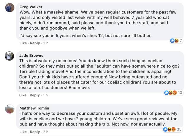 Customers weren't happy with the change (Credit: Kennedy News & Media)