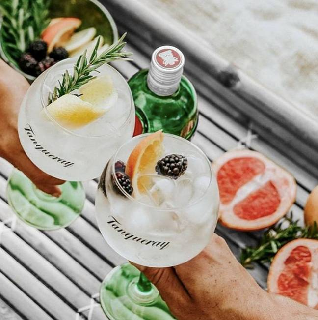 Nobody should miss out on a drink this summer (Credit: Tanqueray)