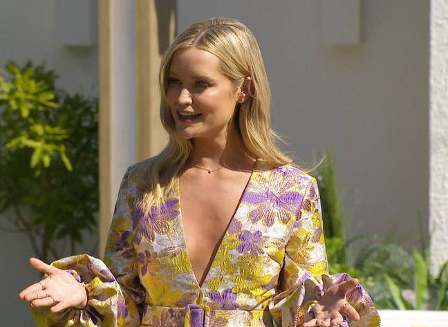 'Love Island' UK is currently being hosted by Laura Whitmore (Credit: ITV)