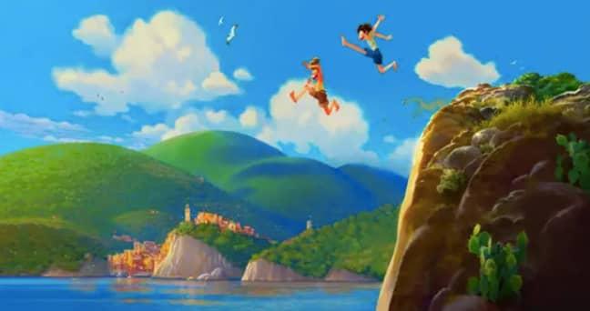 Animated kids movie Luca is coming (Credit: Pixar)