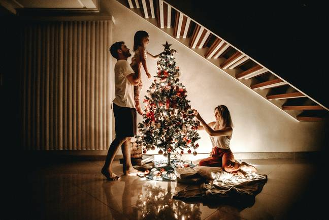 Experts say that Christmas decorations are linked with childhood nostalgia (Credit: Pexels)