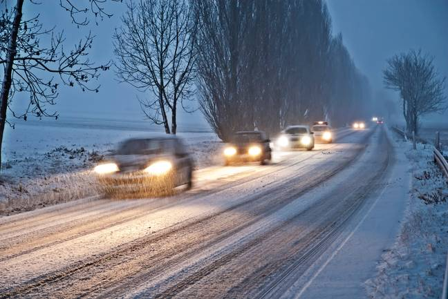 The good news is that your car will heat up more quickly, the sooner you get on the road (Credit: PA)