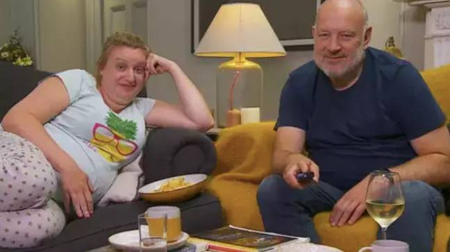 Daisy and Paul appeared on 'Celebrity Gogglebox' (Credit: Channel 4)