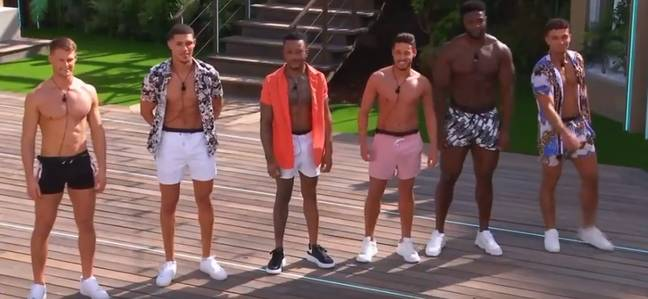 The new boys arrive to distract the girls in the OG villa (Credit: ITV2)