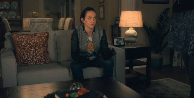 Kate also plays Theodora Crain, the middle child in 'The Haunting of Hill House' (Credit: Netflix)