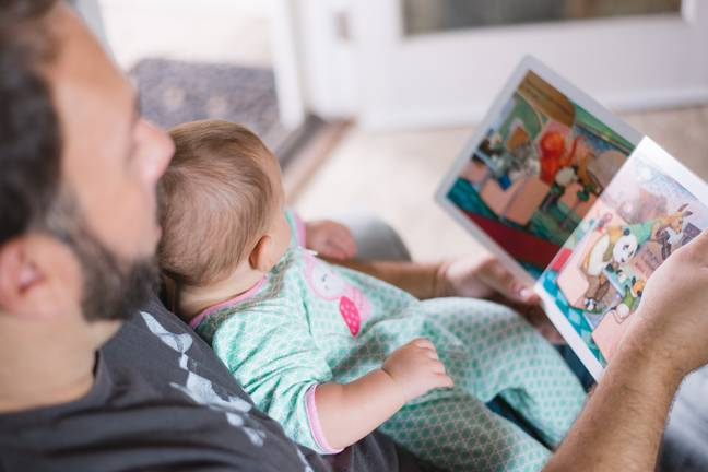 Men have increased their childcare time by 14 minutes a day (Credit: Unsplash)