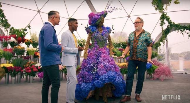 Like 'Bake Off', each episode of 'The Big Flower Fight' will focus on a different skillset (Credit: Netflix)