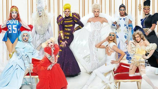 There's a whole bunch of Canadian queens vying for the crown (Credit: BBC)