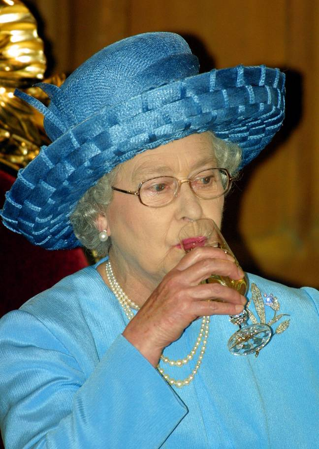 Rumour has it that the Queen's favourite tipple is a glass of gin and Dubonnet (Credit: PA)