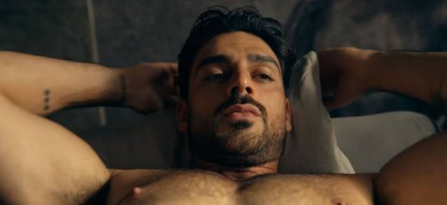 Italian actor Michele Morrone plays mafia boss Massimo (Credit: Ekipa)
