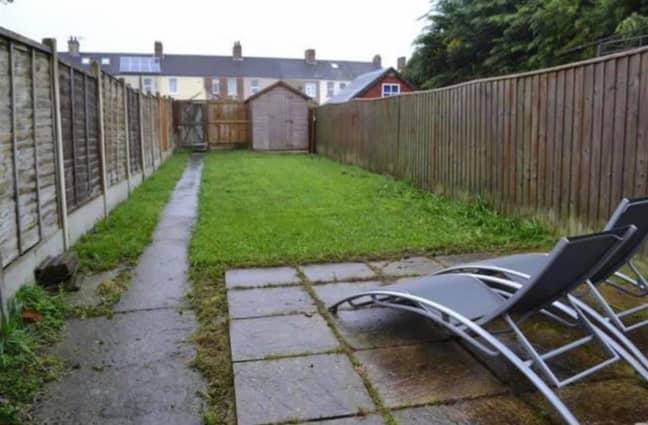 The garden before needed major work (Credit: Jordy Wells)