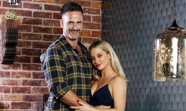 Jessika was initially partnered with Mick on Married At First Sight (Credit: Nine Network)