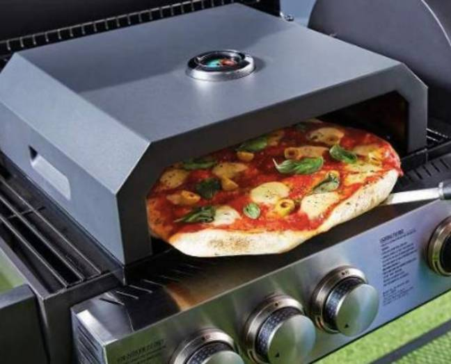 The pizza oven is back by popular demand (Credit: Aldi)