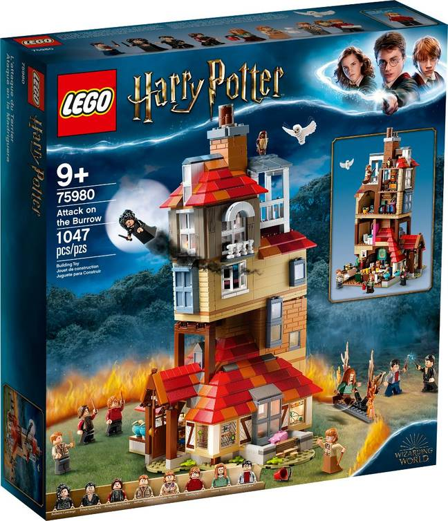 LEGO have released a series of 'Harry Potter' sets available from June 1 (Credit: LEGO)