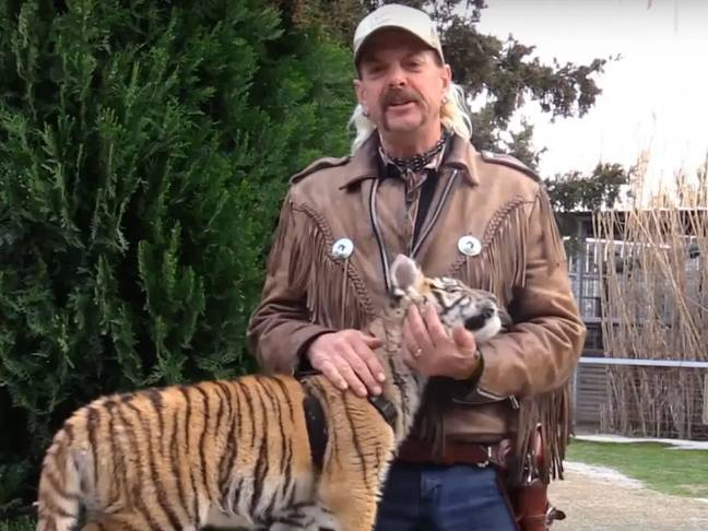 Joe Exotic's animals will take centre stage (Credit: Netflix)