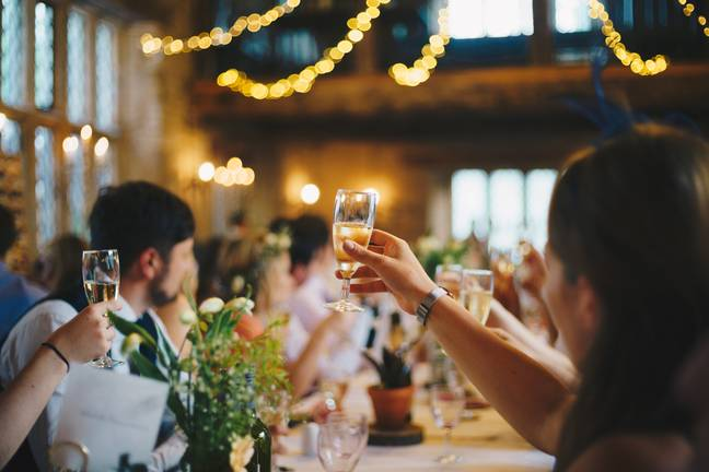 Wedding receptions are now strongly advised against (Credit: Unsplash)