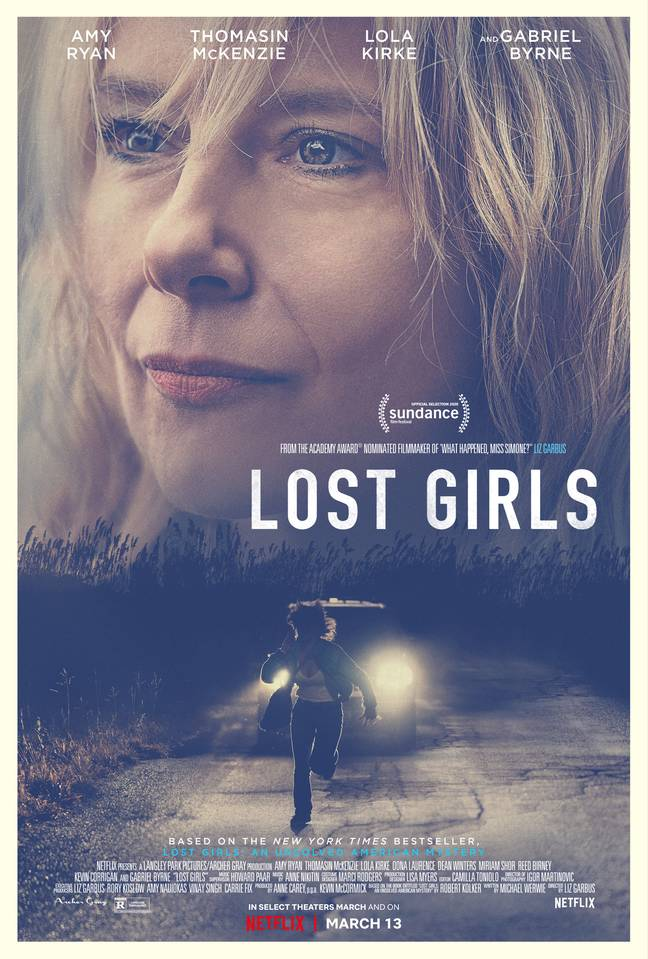 Mari Gilbert tries to make authorities take more responsibility in the film that lands on 13th March (Credit: Netflix)