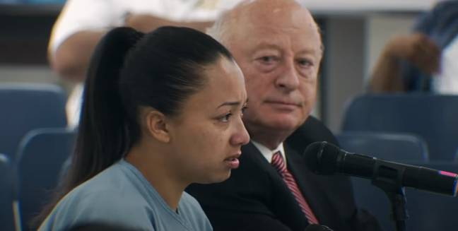 It wasn't until she had spent 15 years in jail that Cyntoia was granted clemency in 2019 (Credit: Netflix)