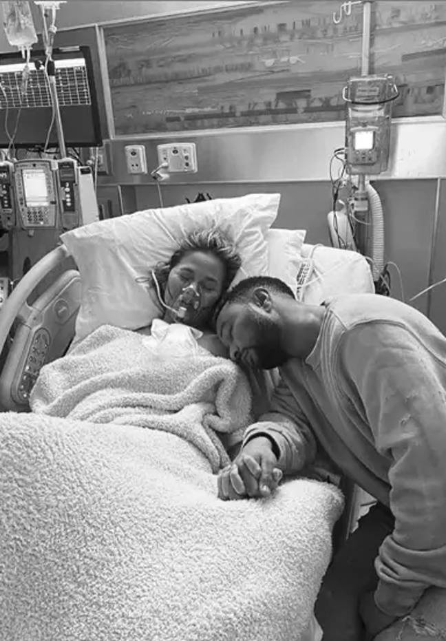Chrissy and John said they feel pain like never before (Credit: Instagram/ Chrissy Teigen)