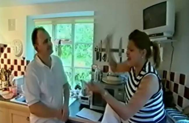 Charles appeared on the show with Jade Goody (Credit: Channel 4)