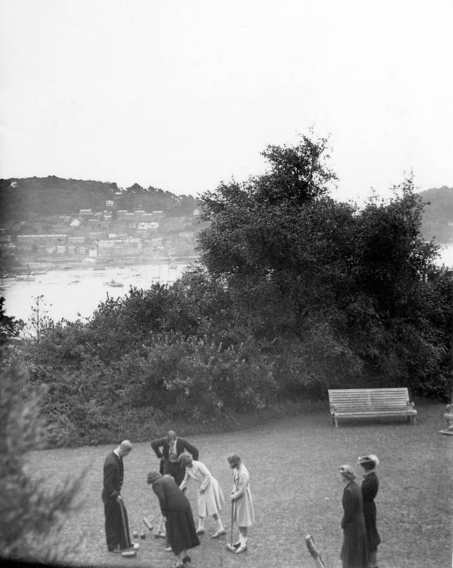 Elizabeth and Margaret were in Dartmouth with their parents (Credit: Britannia Royal Naval College)