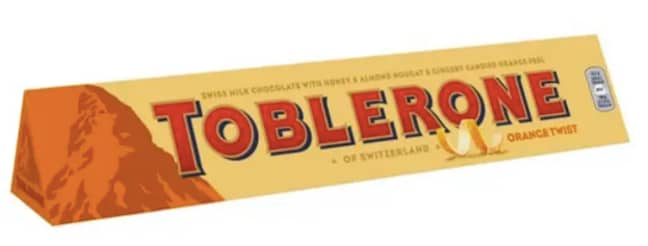 Toblerone also just released its new Orange Twist (Credit: Toblerone)