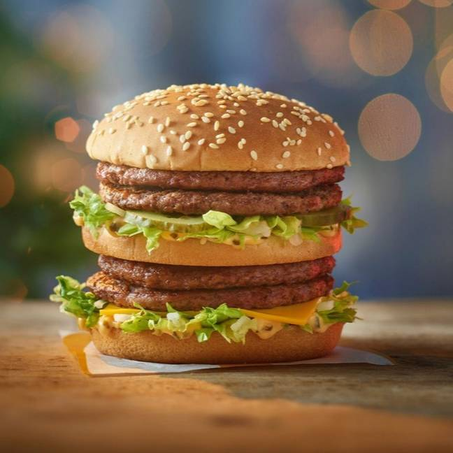 The Double Big Mac is available now (Credit: McDonald's)
