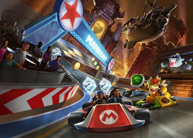 It's a dream for every Mario Kart fan (Credit: Universal Studios/Nintendo)