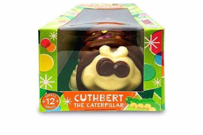 Cuthbert the caterpillar is currently unavailable (Credit: Aldi)
