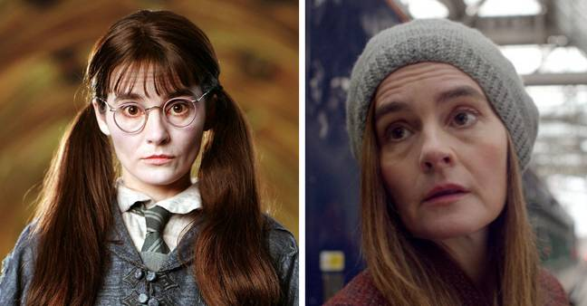 Kaya's mum played Moaning Myrtle in Harry Potter (Credit: Warner Bros/ BBC)