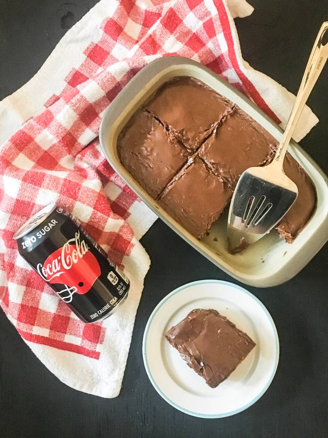 In America, Cola-enriched chocolate tray cakes are a Southern classic (Credit: Samantha Aleman / The Lovely Life)