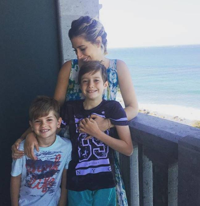 Stacey Solomon fell pregnant with her eldest child at just 17 (Credit: Instagram/Stacey Solomon)