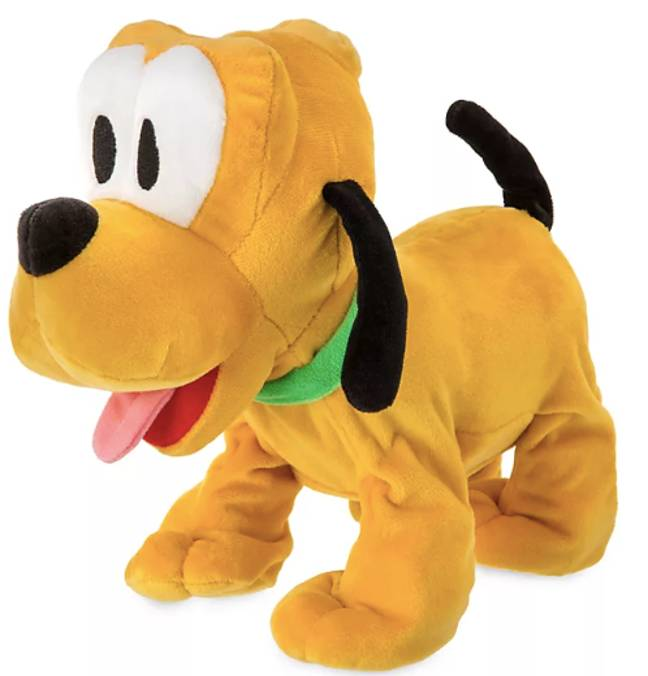 This plush interactive Pluto toy is just £17.49 (Credit: Disney)