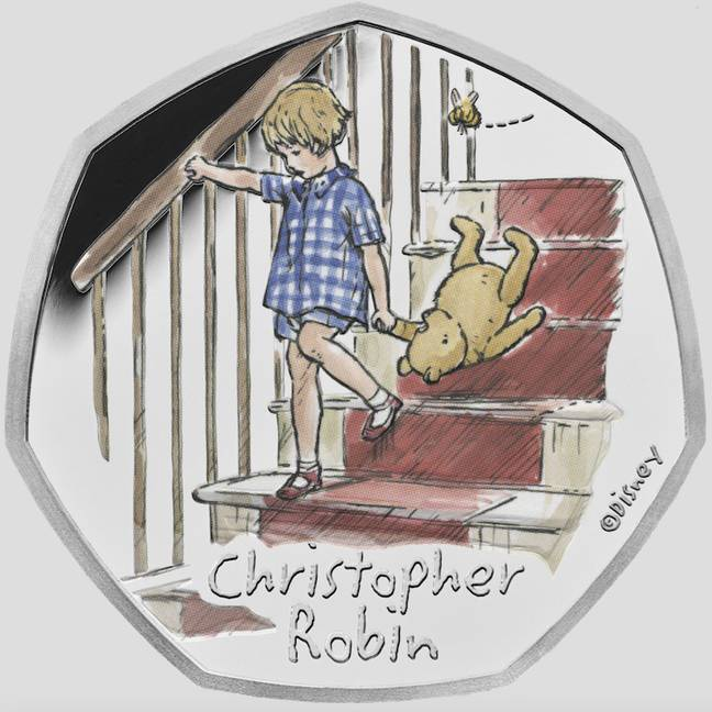 The Christopher Robin coin is a Disney lover's staple (Credit: Royal Mint)