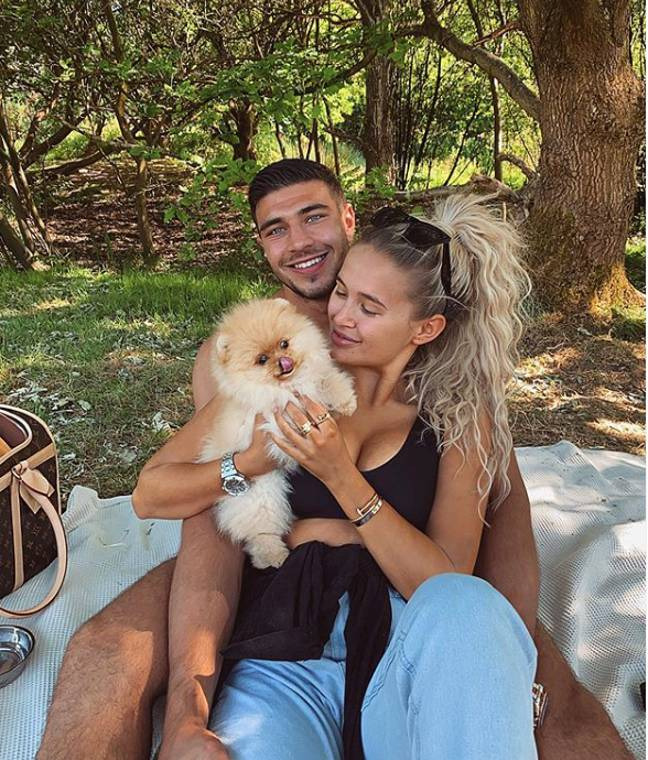 Molly explained the couple had wanted to get a dog for a long time (Credit: Tommy Fury/Instagram)