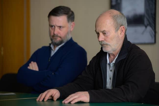 Keith Allen plays serial Killer John Cooper (Credit: ITV)