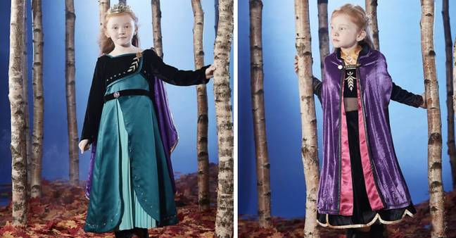The 'Frozen 2' outfits are *so* magical! (Credit: Disney)