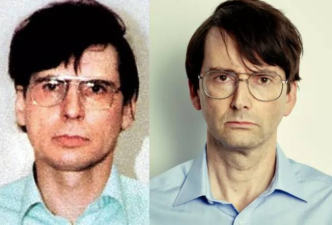 David Tennant is taking on the role of the sadistic serial killer (Credit: London Met Police/ITV)