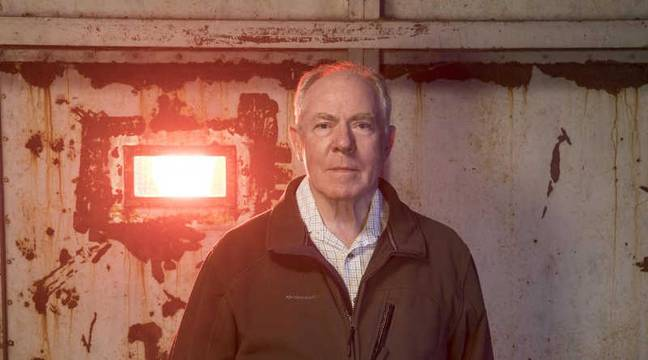 Retiree Mervyn 'Titch' Little is set to be hunted (Credit: Channel 4)