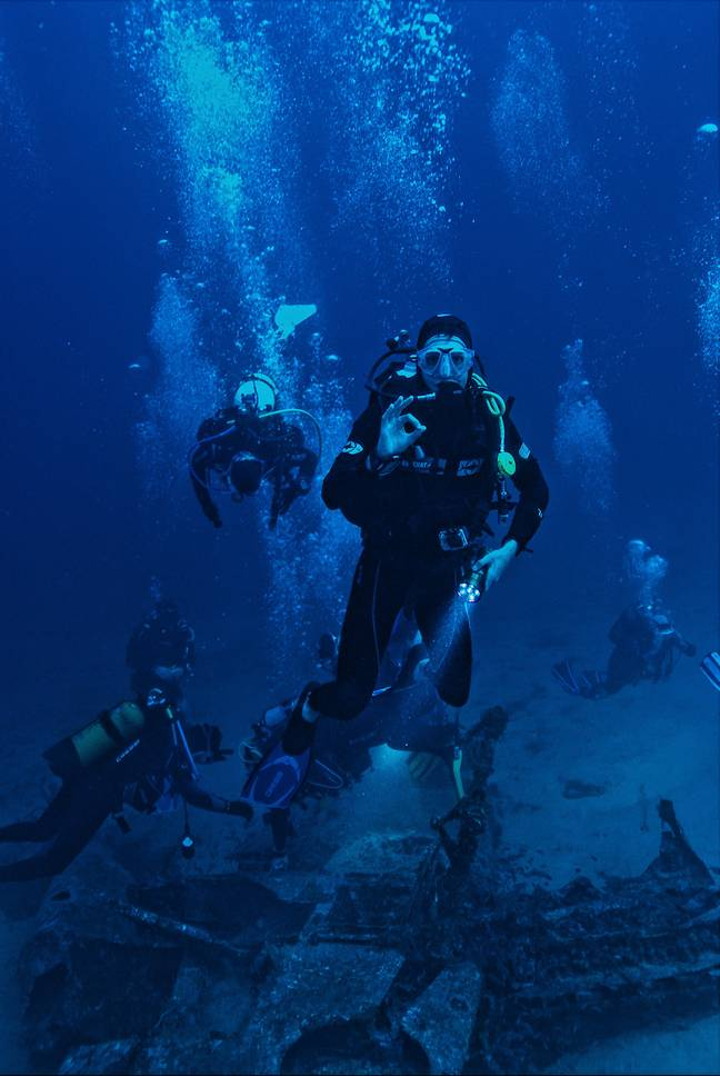 Divers can now explore the ruins (Credit: Unsplash)
