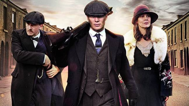 Peaky Blinders creator Knight has been teasing a film for years (Credit: BBC)