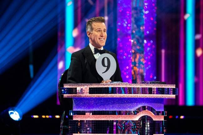 Anton du Beke made his debut on the judging panel and fans loved it (Credit: BBC)